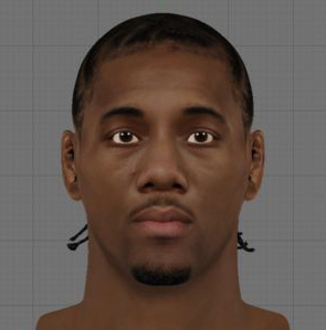 Download NBA 2K13 Kawhi Leonard Cyber Face Mod