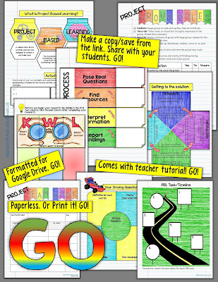 Looking for ways to bring Google apps and Project Based Learning together? This blog post can help! You will learn two hands-on ways to incorporate PBL into the classroom by using technology. Both ideas can be incorporated into your classroom today with just a little effort on your part. These ideas will work great in your 5th, 6th, 7th, 8th 9th, 10th, 11th, or 12th grade classrooms. Click through to learn more!