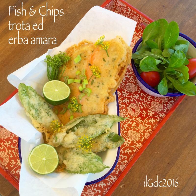 reputable site a3f57 1c307 il giardino dei ciliegi: Fish and Chips: Trota ed Erba Amara ...