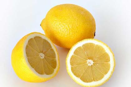 Cara menghilangkan flek hitam dengan lemon