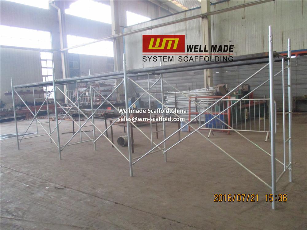 3cebc0adbfa H frame Scaffold Galvanized 2m Ladder Frames to Chile-Andamios Marco