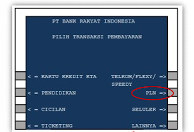 Cara Bayar Registrasi PLN Lewat ATM