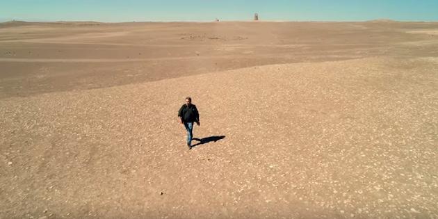 Eric Goles en Desierto de Atacama