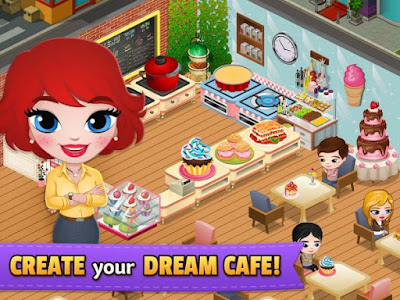 Download Game Cafeland – Star World Apk v0.9.32 (Mod Money)