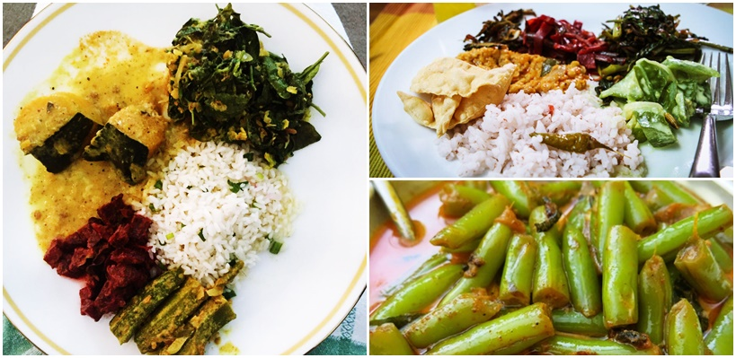 Vegetarian food in Sri Lanka