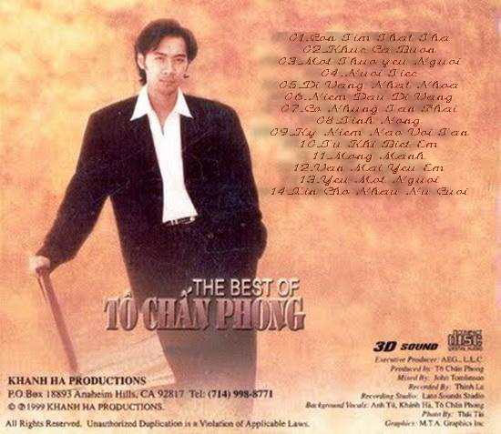 The Best Of To Chan Phong (1999) [WAV]