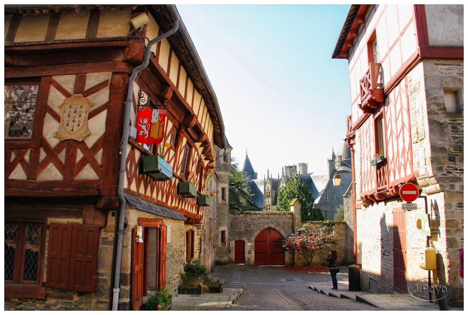 Josselin, Bretaña, Francia