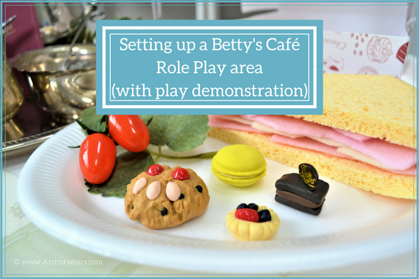 Bettys cafe tearoom role play area