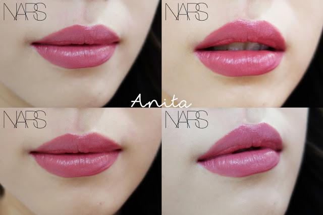 Nars Audacious Lipstick Jane Swatches Onlips Lusting