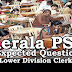 Kerala PSC Model Questions for LD Clerk - 6