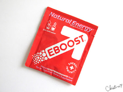 Influenster MegaVoxBox EBOOST Natural Acai Pomegranate packet