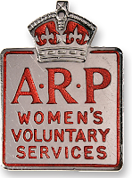 ARP - Women's Voluntary Services badge  (from Royal Voluntary Service website)