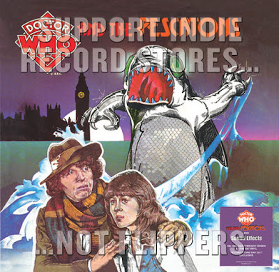 Record Store Day 2017 Exclusive Doctor Who & the Pescatons Audio Play 2xLP Vinyl Records