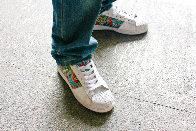 abe1a13002 The very first sneakers I featured and took a photo of. If you remember