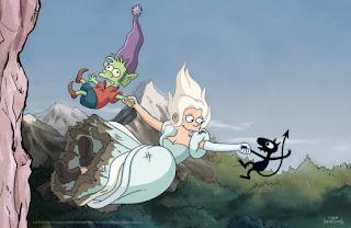 (Des)encanto Disenchantment Matt Groening Netflix