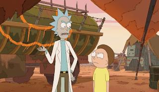 Rick Sánchez el abuelo que hace de padre en 'Rick and Morty'