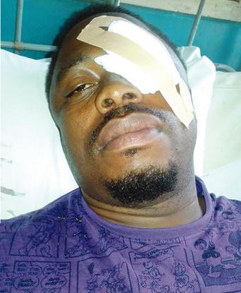 lagos policeman beaten police benin