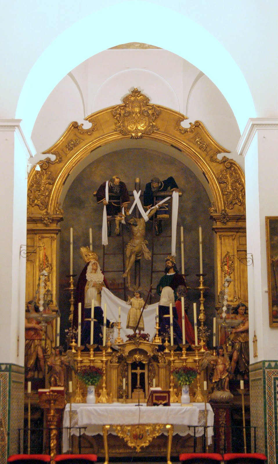 Leyendas de Sevilla Iglesia de Santa Mara Magdalena y II