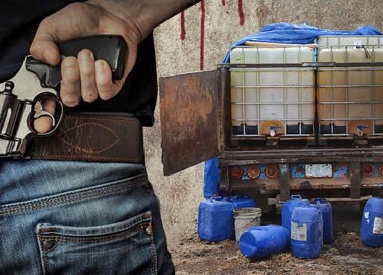 """CJNG y """"Los Zetas"""": la guerra que se avecina por el huachicol en Puebla."""