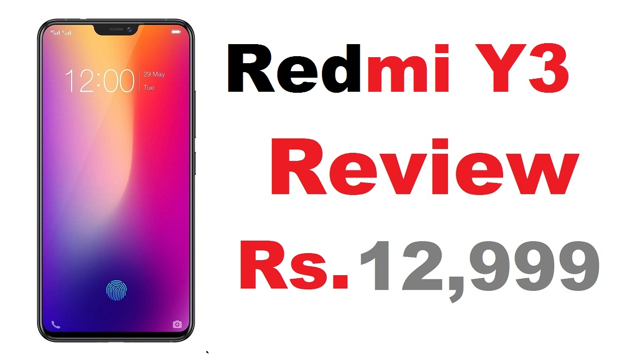 Redmi Y3 price