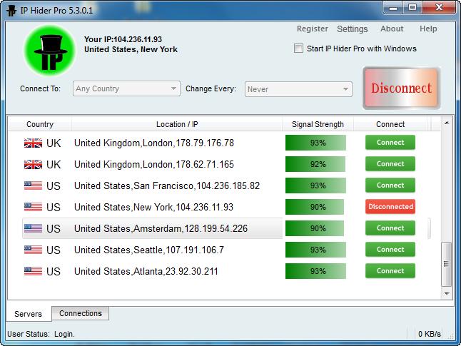 IP Hider Pro 5.4.0.1 + Crack