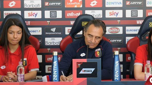 La conferenza stampa di Prandelli pre Parma Genoa