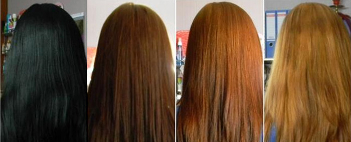 Как покрасить темные волосы в светлый цвет. Осветление 46