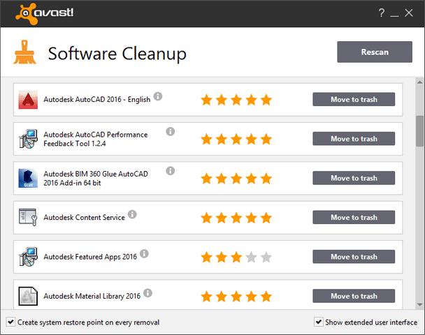 تحميل برنامج Avast Software Cleanup