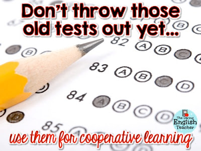 Cooperative learning activity to use with multiple choice tests