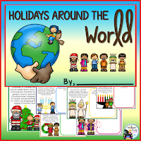 Holidays Around the World Mini Book