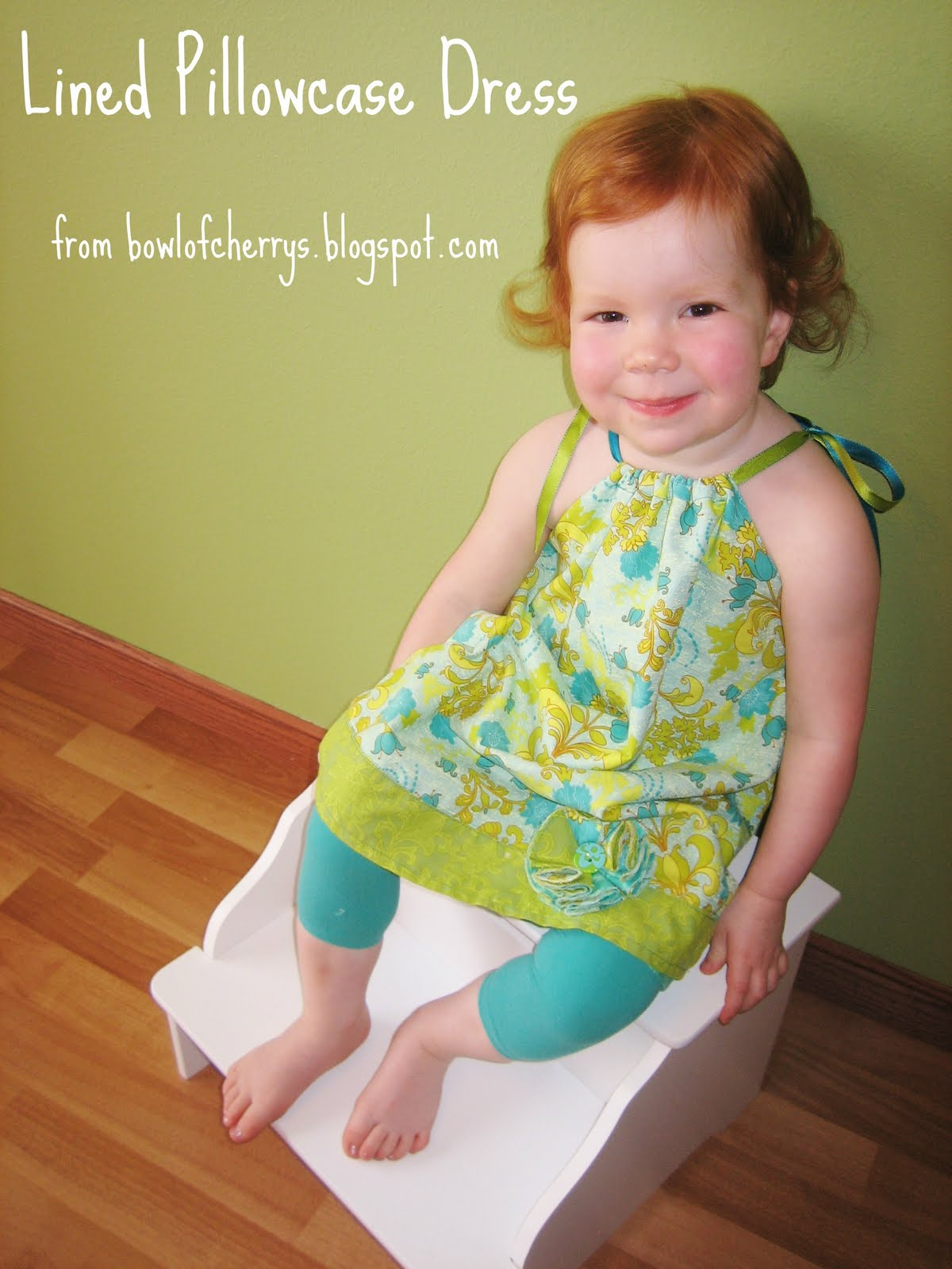 Tutorial Tuesday: Lined Pillowcase Dress