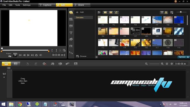 Corel VideoStudio Ultimate X7 Versión 17.1.0 Español