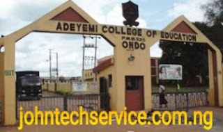 ACEONDO PDE school fees