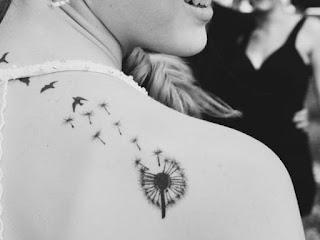 tatuaje diente de leon 1