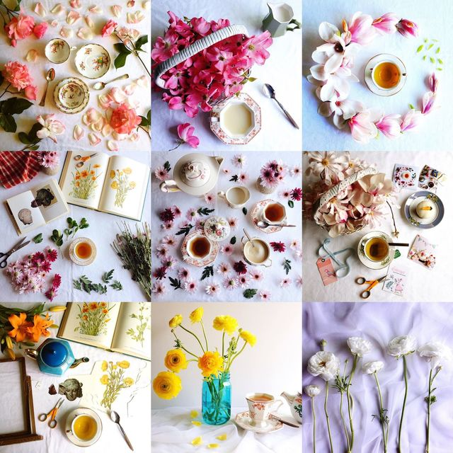 vintage teacup styling, vintage teacups, vintage styling, flowers and teacups, styling with flowers and teacups, tea and roses, vintage tea and roses, tea and dogwoods, tea and magnolia, tea and daisies, tea and ranunculus