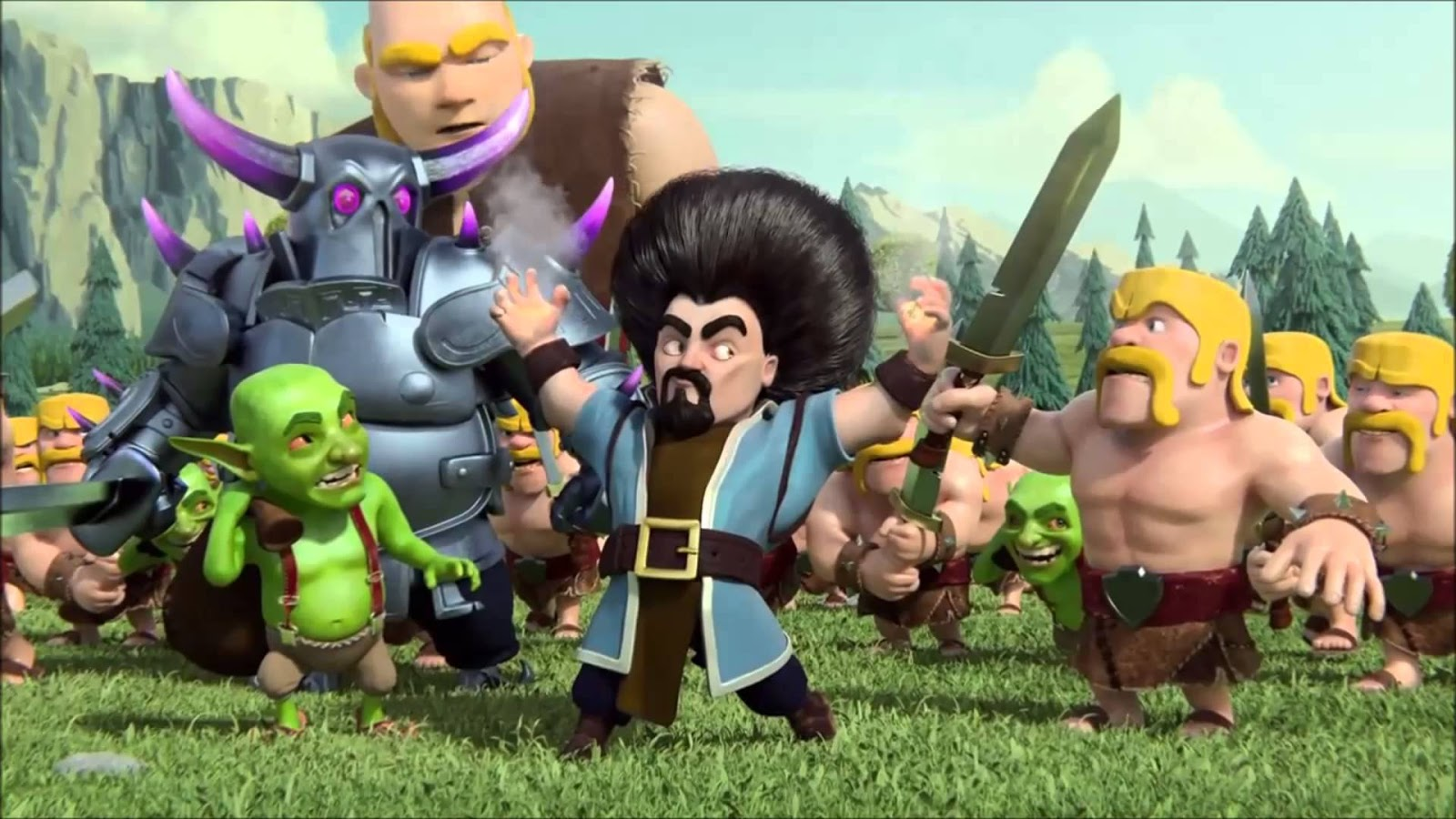 Clash Of Clans Keunikan Game Clash Of Clans V