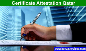 Kenza Certification Attestation Qatar