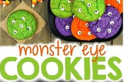 Halloween Monster Eye Cookies Recipe