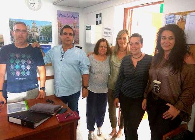Reunión en San Fernando con la asociación de vecinos El Pino