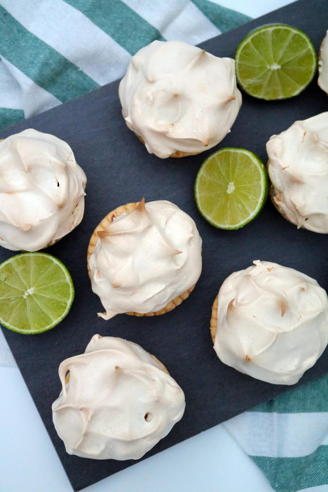 Mini Lime Meringue Pies | Bake Off Bake Along | Take Some Whisks