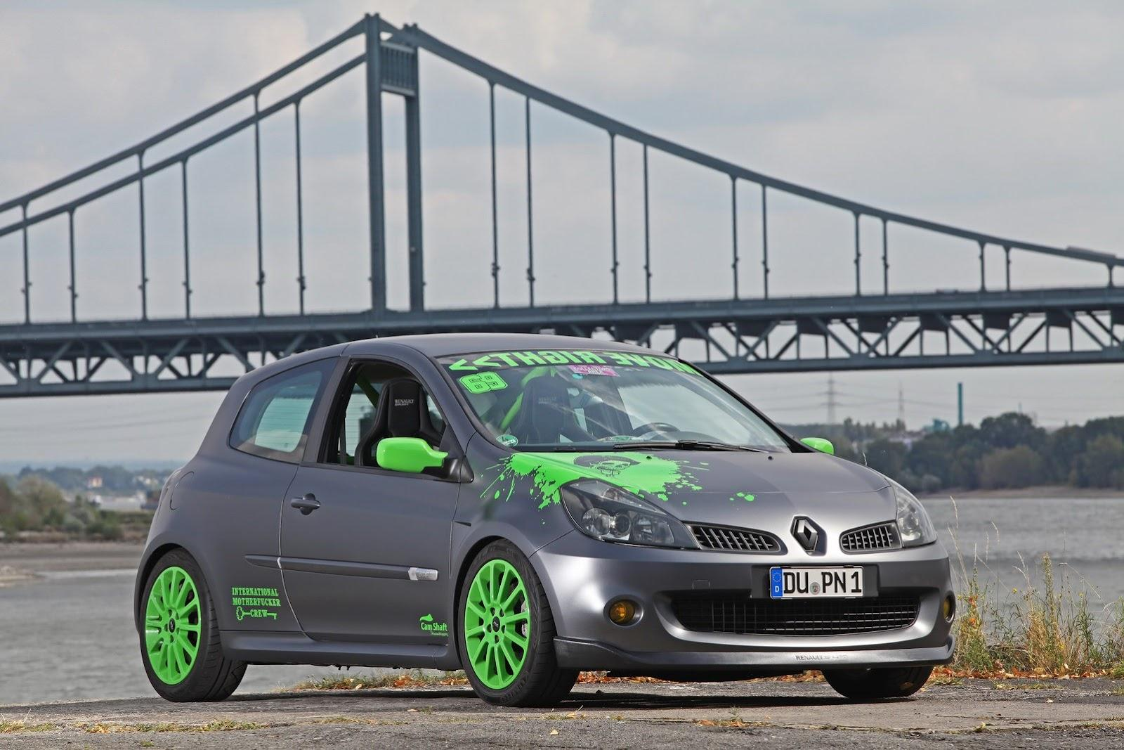renault clio rs by cam shaft car tuning styling. Black Bedroom Furniture Sets. Home Design Ideas