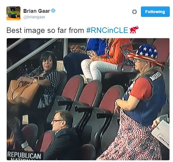 best Twitter responses to the RNC 2016 Black vs white women @BrianGaar
