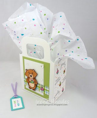 Happy Birthday bag by Dandi features Winston's Birthday and Newton's Birthday Bash by Newton's Nook Designs; #newtonsnook