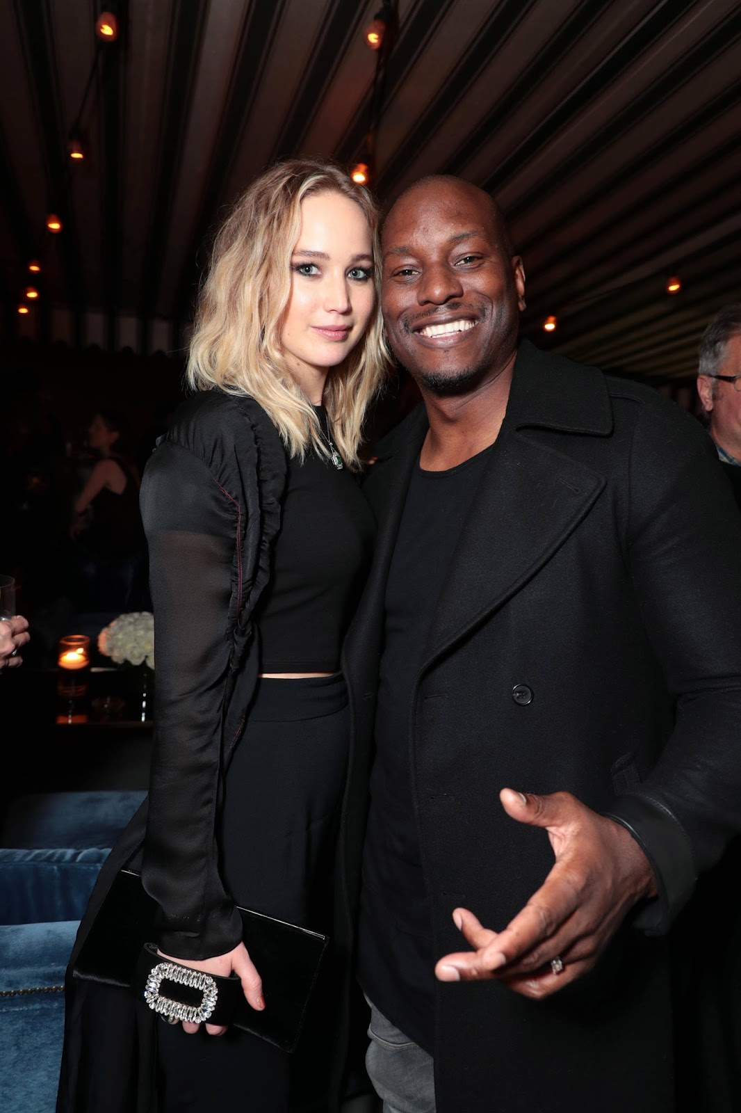 Jennifer Lawrence Posing at THE POST Reception in Los Angeles