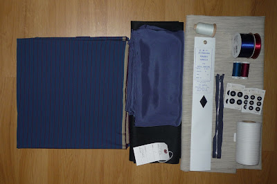 10th Doctor blue suit materials