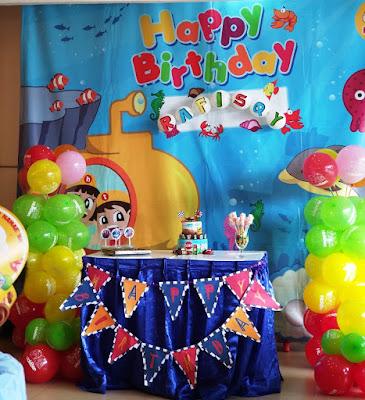 Perlengkapan Pesta Ulang Tahun