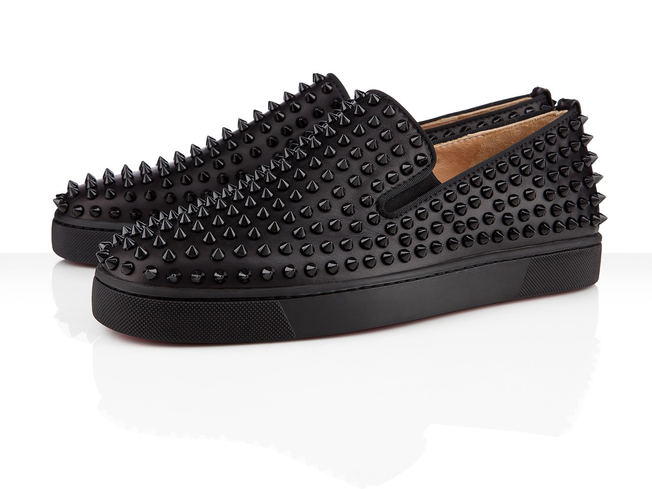 sports shoes 4d040 0866c Christian Louboutin Fall Winter 2012 Rollerboy Velvet Antracite Spikes –   1295. This is my favorite among the others from this collection, ...
