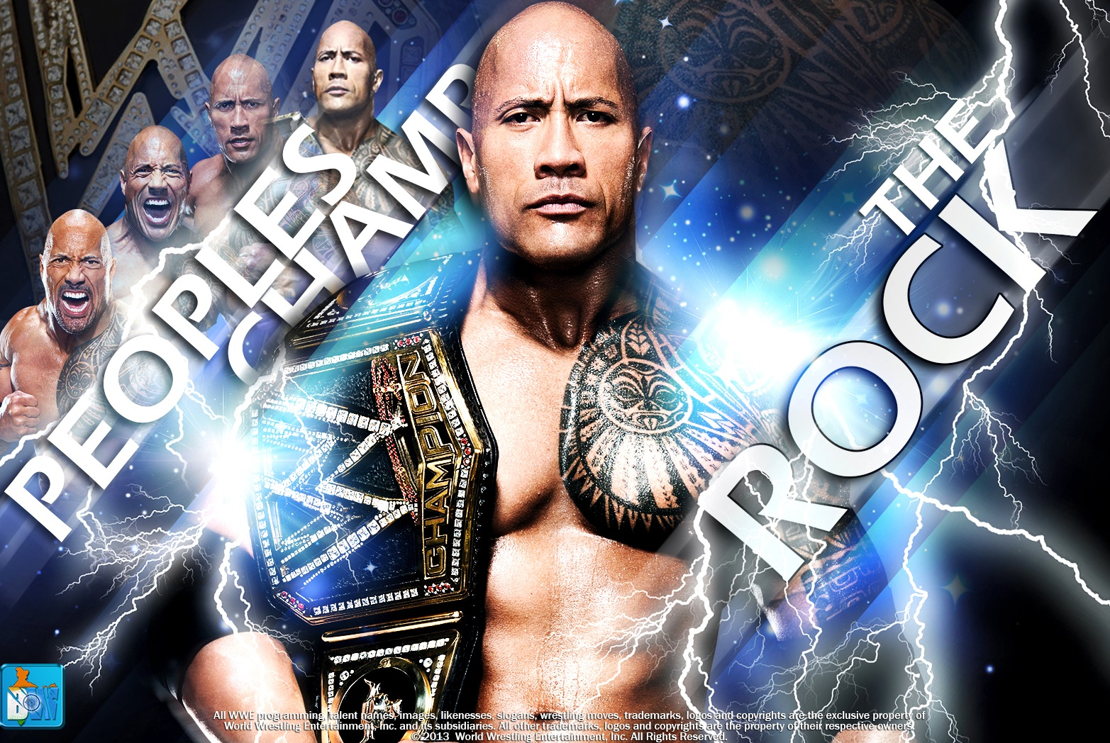 The Rock 2013 Wallpapers HD