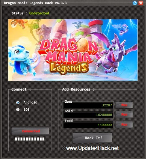 Dragon Mania Legends Hack For ( iOS / Android ) (Unlimited