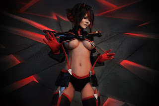 christina fink sexy kill la kill cosplay 05